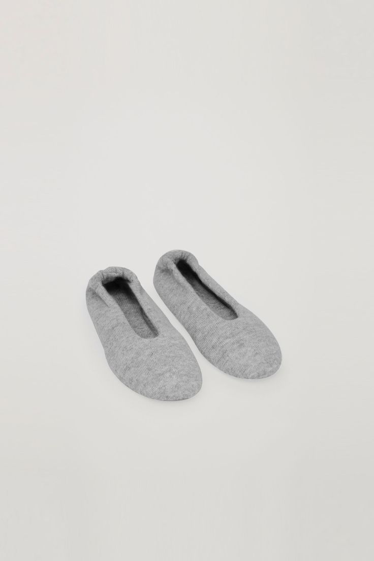 COS   The Gift Edit   Cashmere ballerina slippers