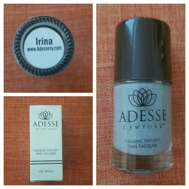 Adesse New York Organic Infused Gel Effect Nail Lacquer in Irina