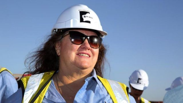 Gina Rinehart's wealth surges on mining boom, Donald Trump plummets