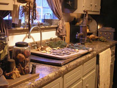 Primitive Kitchen 572 best primitive kitchens images on pinterest | home, kitchen