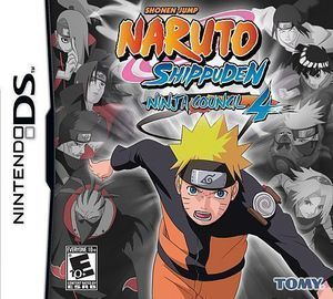 Naruto Shuppuden: Ninja Council 4 - DS Game
