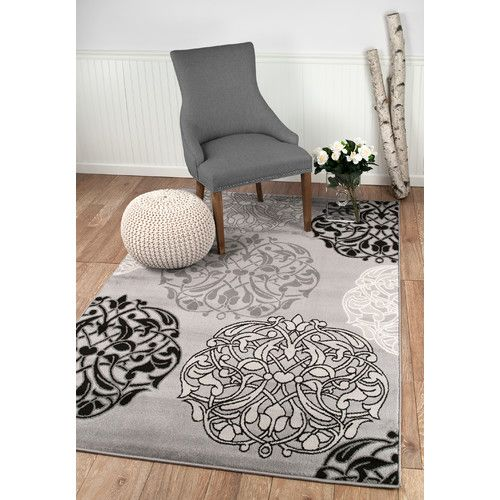Found it at Wayfair - Summit Gray Area Rug