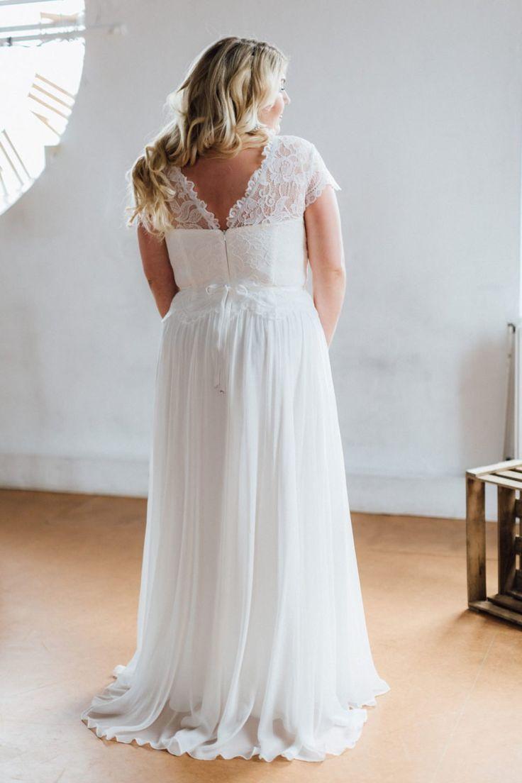 Ein Brautrücken zum Entzücken und das bis Brautkleider Größe 15