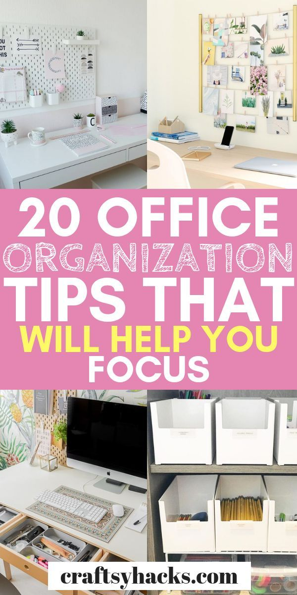 40 Creative Office Organization Ideas Office Organization Tips Desk Organization Office Home Office Organization