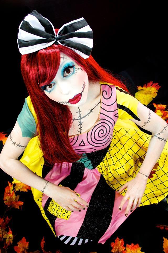 Sally (Nightmare Before Christmas) INSPIRED Makeup!
