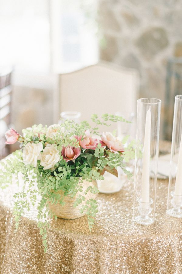 Glam wedding decor: http://www.stylemepretty.com/maryland-weddings/stevensville-maryland/2017/03/16/this-maryland-fall-fete-is-the-definition-of-timeless/ Photography: Elizabeth Fogarty - http://www.elizabethfogartyphotography.com/