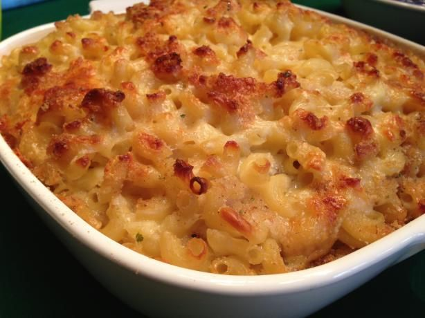 Classic Baked Macaroni and Cheese---easy to mix it up and add some variety with different cheeses, bacon, crab meat, etc.