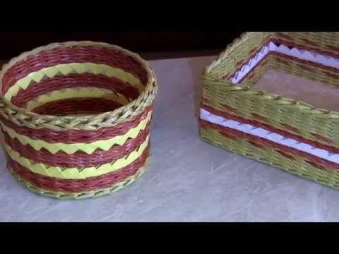 Сочетание плетения и модульного оригами. Шкатулка. МК | oblacco