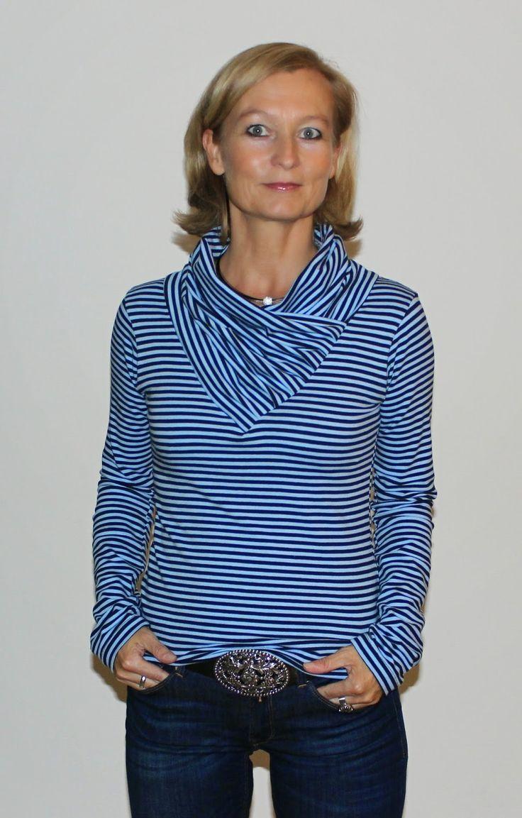 BeeKiddi - Ebooks - trendige Nähideen: BeeWave - das Shirt für den Herbst