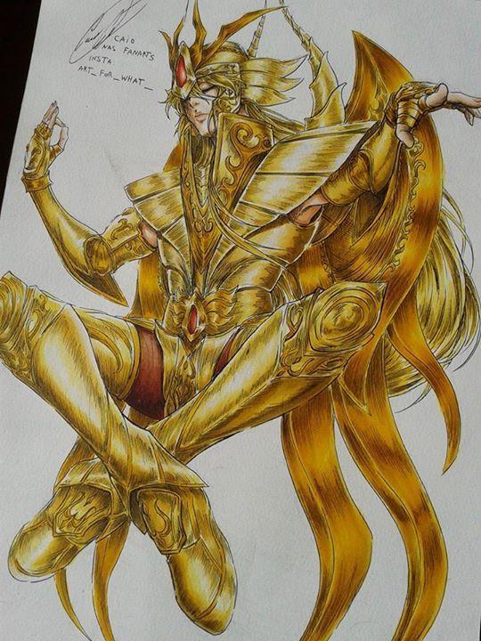 Gold Saint Virgo Virgo Shaka with Divine Cloth -Saint Seiya: Soul of Gold