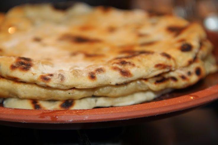 Godt og Sunt: Indisk Naan brød med Løk og Cumin