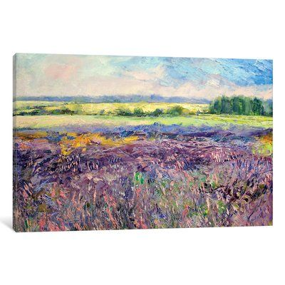 East Urban Home  Provence Lavender  Painting Print on Canvas Size  12  H. 17 Best ideas about Lavender Paint on Pinterest   Painting with
