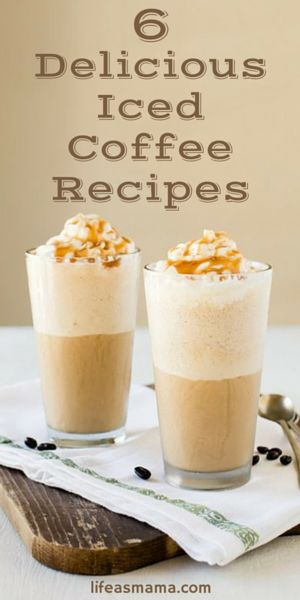 Iced coffees I can make at home, instead of spending money on? Need we say more!?