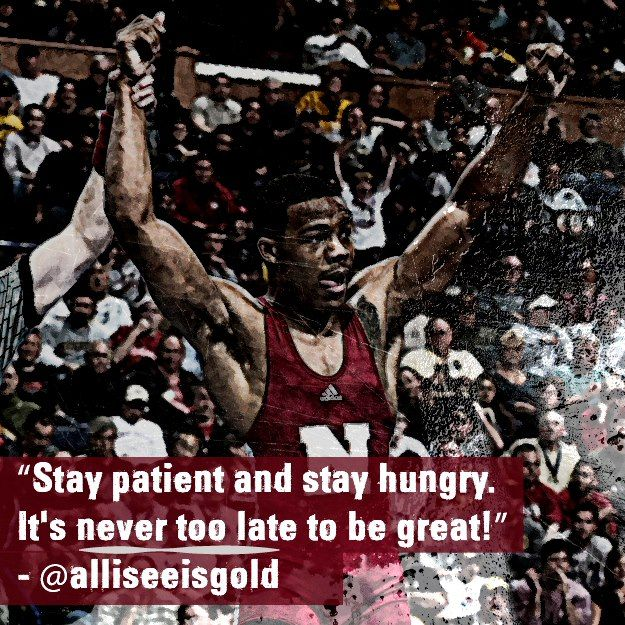 Stay Patient, Hungry!