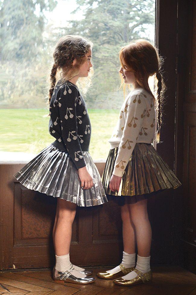Bonpoint catálogo de moda infantil de invierno