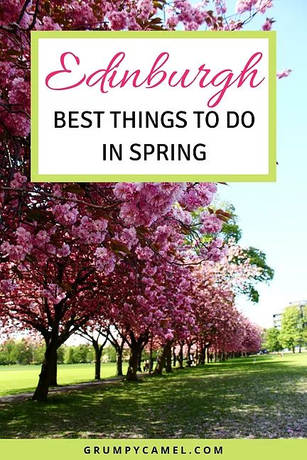 Le migliori cose da fare a Edimburgo in primavera