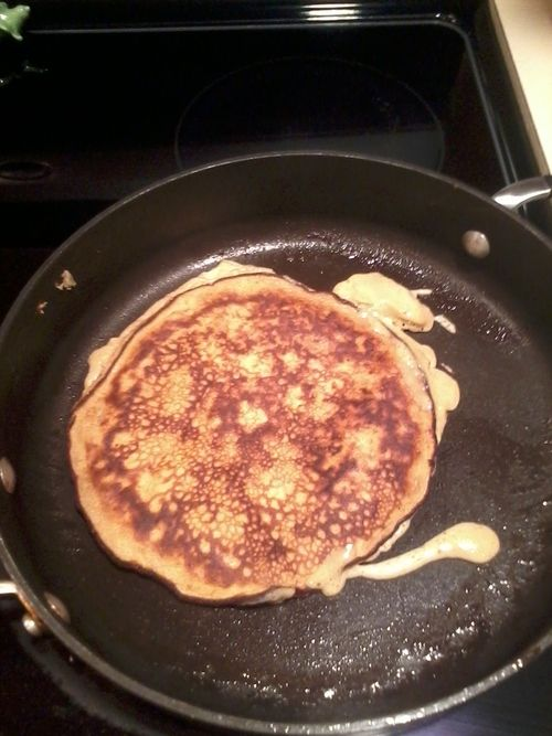 Easy, 3-Ingredient, Flourless Pancakes! These are a HUGE hit, very healthy, and taste like the real thing!