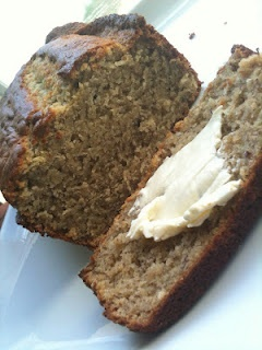 GF Banana Bread just made it for my gf husband with 1/2 the sugar and brown rice flour. He loves it and so does the three year old!