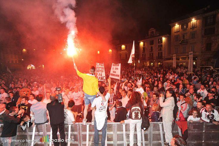 FC PRO VERCELLI: FESTA SERIE B
