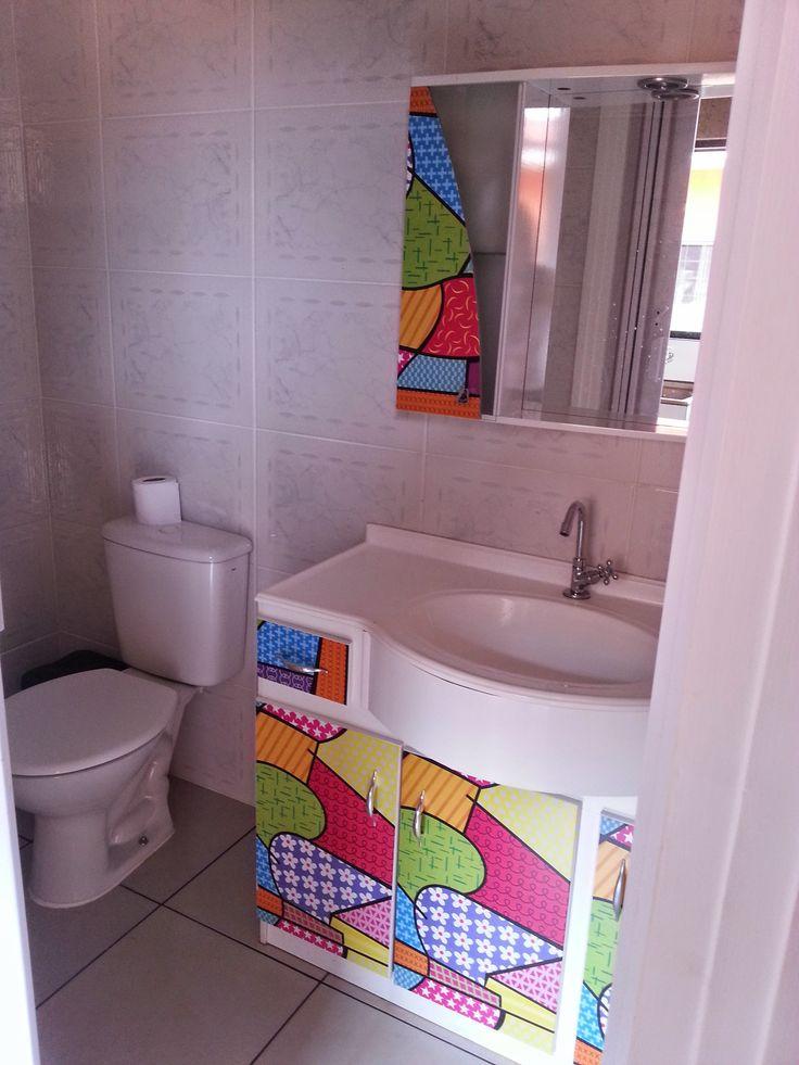 Pinterest • O catálogo mundial de ideias -> Como Reformar Armario De Banheiro De Mdf