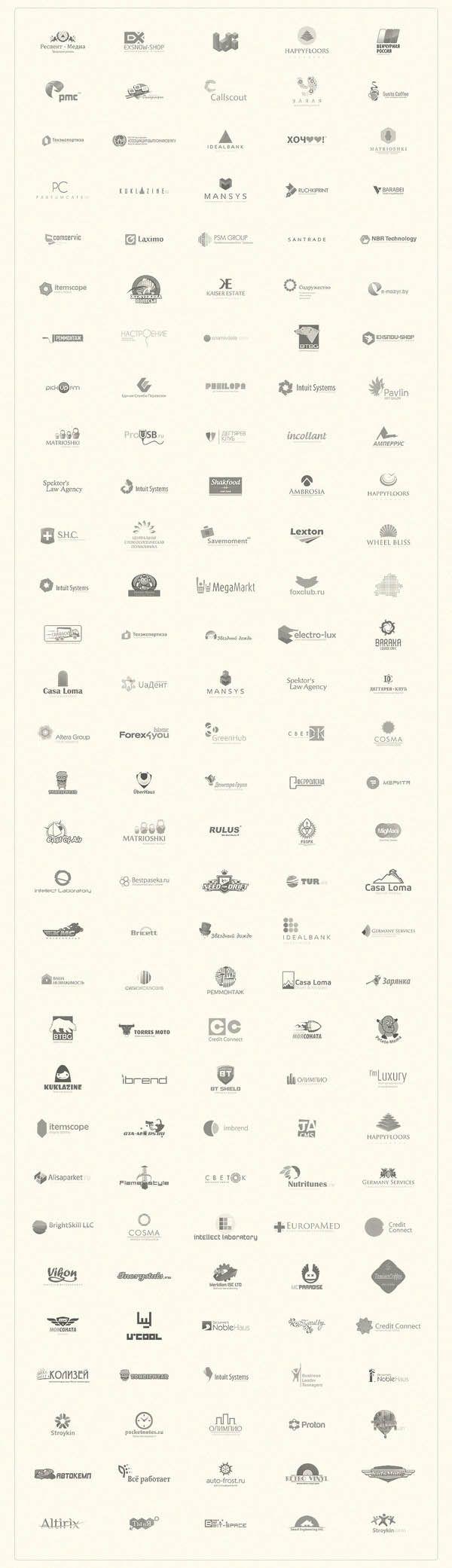155 Logos by Sergey Barabei