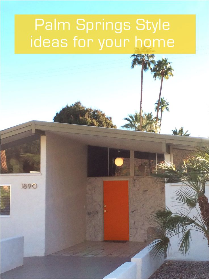 17 best images about modern midcentury on pinterest for Modern home decor palm springs