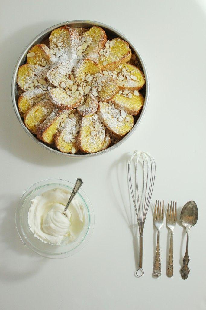 Orange and Lemon Bread Pudding