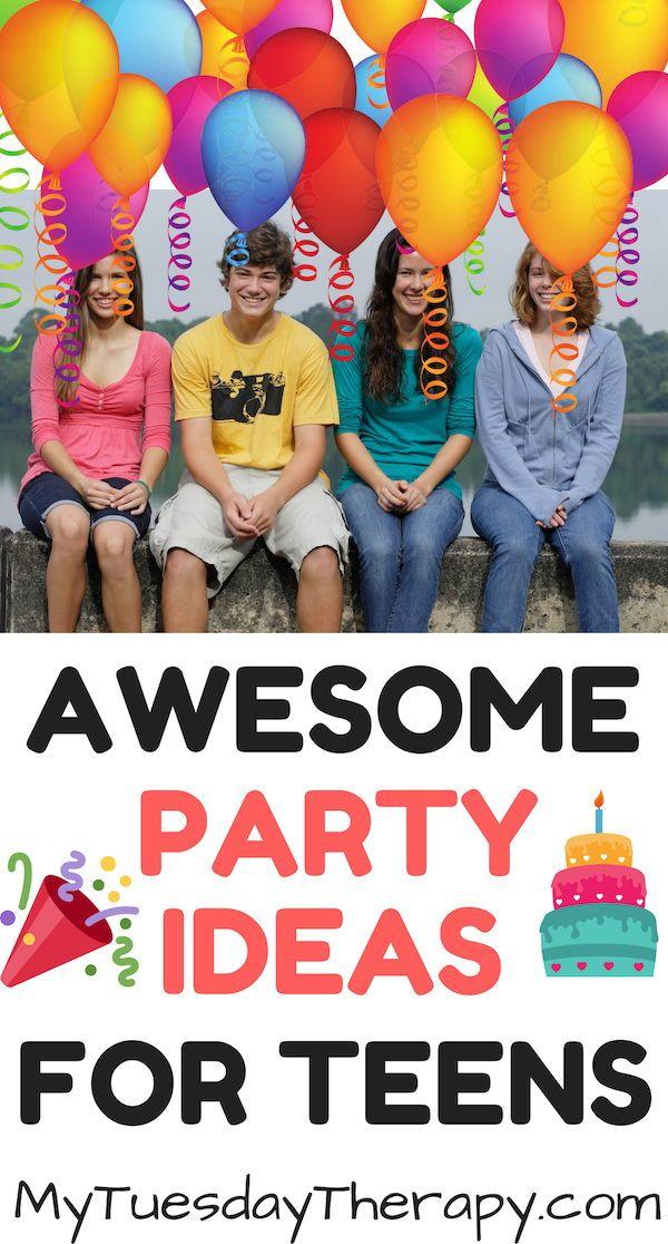 Pin On Teen Birthday Party Ideas