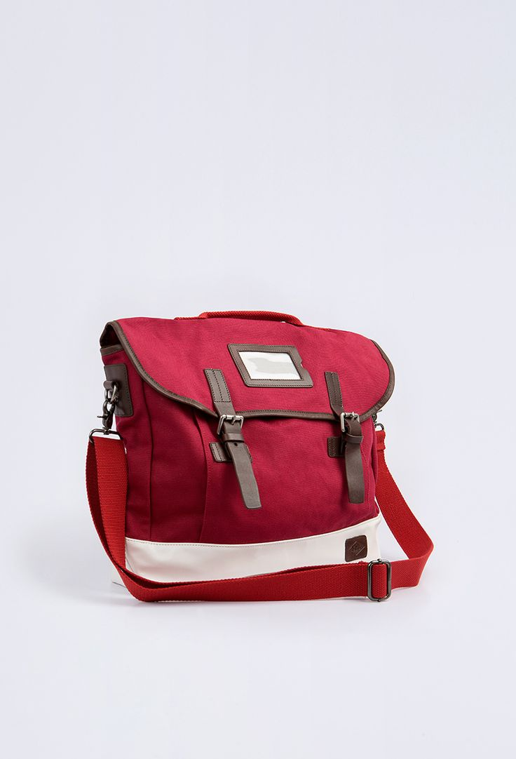 Lee Cooper bag Birkshire red Unisex
