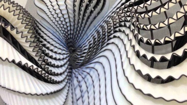 amazing 3D printed fashion by Shenkar student Noa Raviv