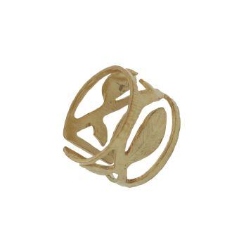 Δαχτυλίδι Ασήμι 925 Επιχρυσωμένο Σεβαλιέ #ring #Silver #Goldplated #Chevalier #handmade #craftsmanship  #goldsmith #Thessaloniki #Greece 23664