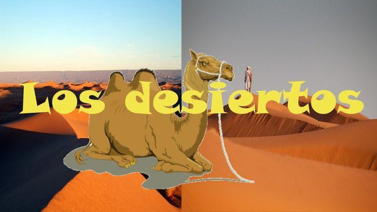Diviértete aprendiendo con este video-libro sobre los Desiertos. ¡Te sor...