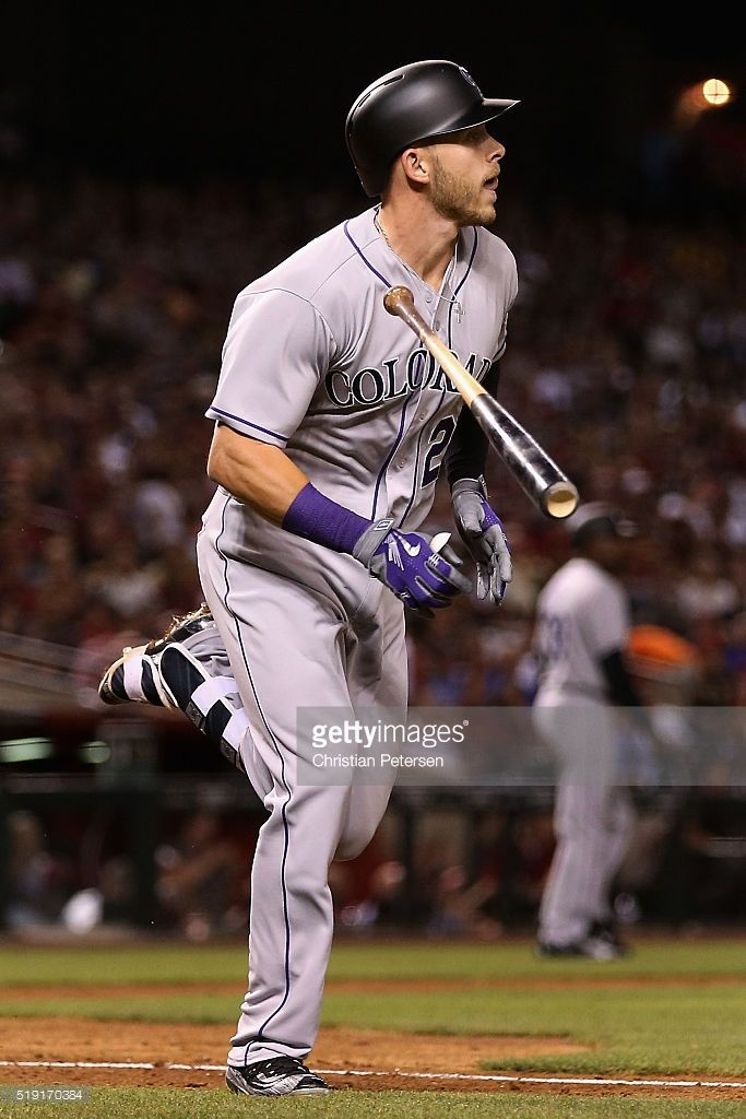 Trevor Story (from Irving Texas) makes baseball history Opening week 2016 by hitting 7 homeruns in his first 6 games....and he's only a rookie!