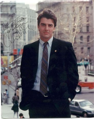 Chris Noth .... Mr Big ..... Loved that guy :) & Detective Mike Logan keeping me company while I studied in college :)