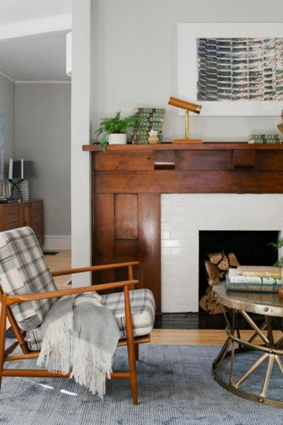 Updated Classic - 15 Inspiring Fireplaces From Instagram - Photos