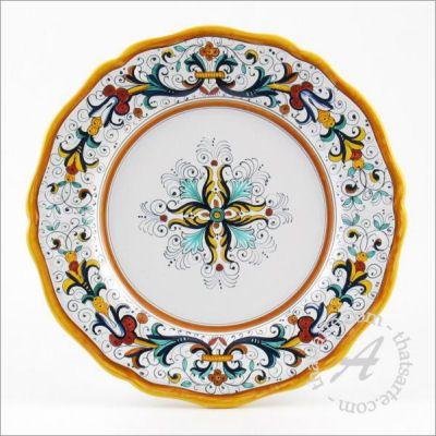 Italian dinnerware plate - Ricco Deruta classico by Fima (Deruta)  sc 1 st  Pinterest & 18 best Italian dinnerware images on Pinterest   Flatware Dinner ...