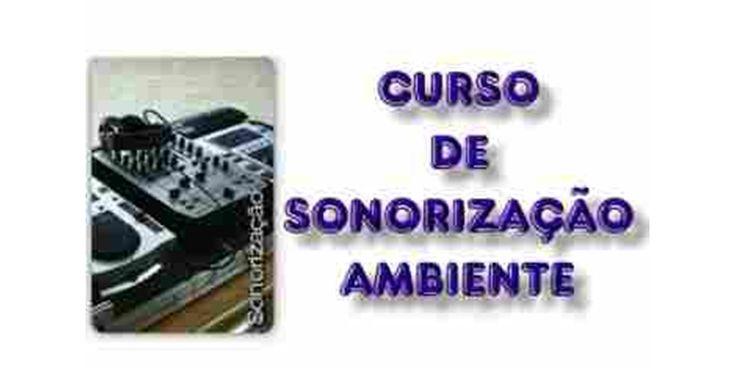 Para se tornar um profissional em Sonorizacao, operacao de mesas de som, instalacao de som ambiente em palcos, festas, eventos, auditorios, igrejas, etc. Veja em detalhes neste site