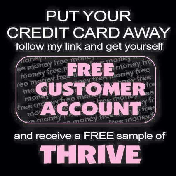 How can you go wrong with FREE? Www.laceyvthrives.le-vel.com