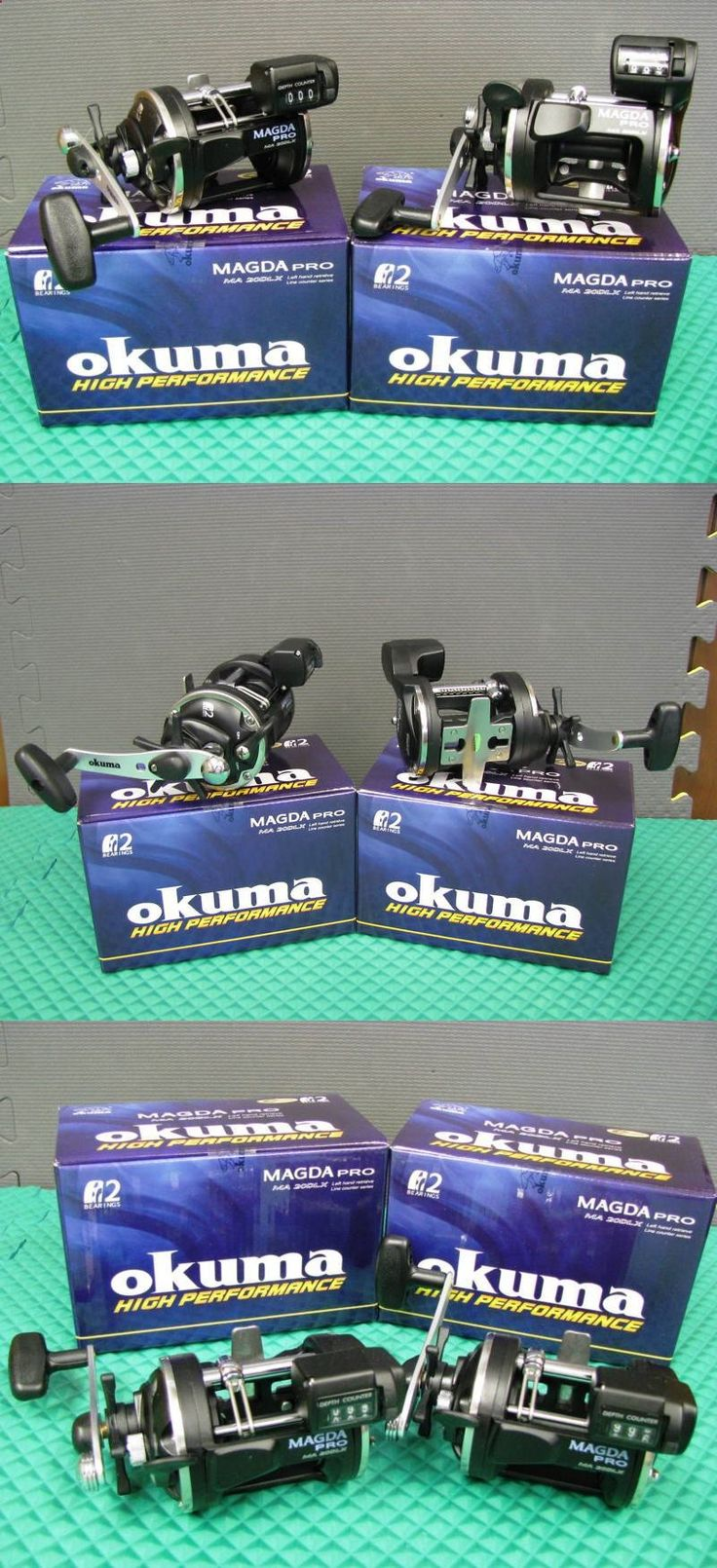 Other Fishing Reels 166159: Okuma Magda Pro Ma 20Dlx Left Hand Retrieve Line Counter Trolling Reel 2 Pack -> BUY IT NOW ONLY: $94 on eBay!
