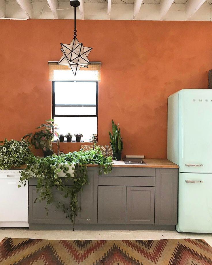 72 Best Orange Kitchens Images On Pinterest