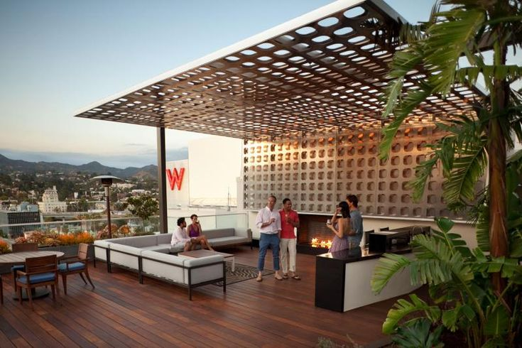 La S Best Rooftop Park Amenities Hollywood Penthouses