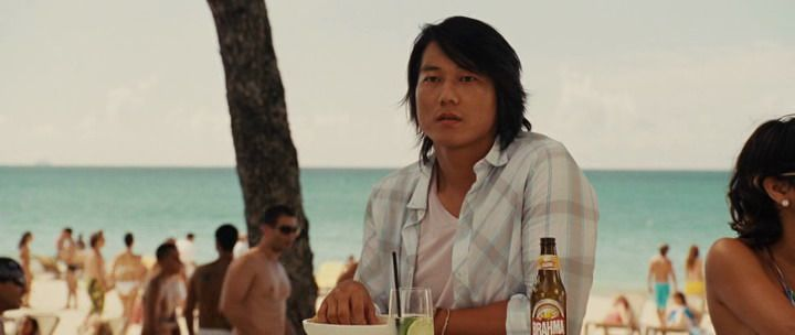 Fast Five BRAHMA CHOPP BEER GLASS BOTTLE #SungKang #Han #Drink #ProductPlacement