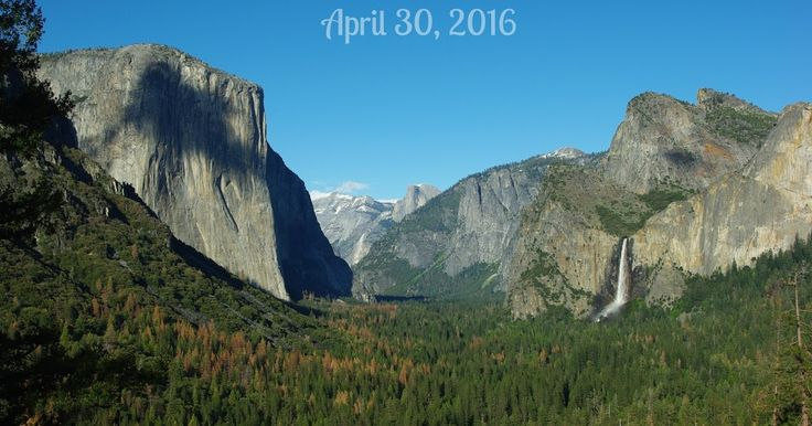 The Sounds of Rushing Water ~ Videos from our visit to Yosemite National Park on April 30, 2016.