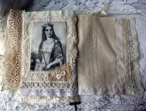 fabric lace book by Sugar Lump Studios: Mystic Dreams