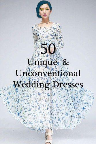 Picture 1 - 50 Unique & Unconventional Wedding Dresses