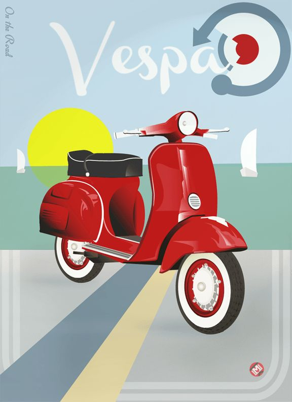 #vespa #scooters #italian