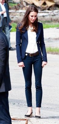 Duchess Catherine in Slave Lake, Alberta, July 6, 2011.