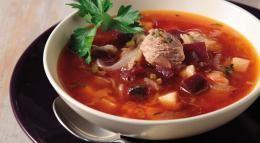 Σούπα λαχανικών (Μπορς)