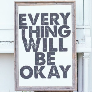 Everything Okay White 24.25x36 now featured on Fab.White Design, 24X36 Typography, Quotes, Nursing Schools, White 2425X36, 2425X36 Design, White 24X36, Prints, White 24 25X36