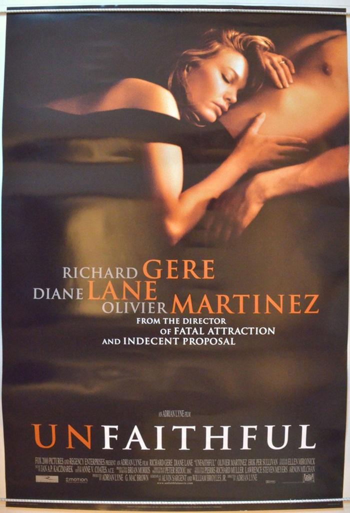 """Unfaithful"""" ~Richard Gere, Diane Lane, & Olivier Martinez ..."""